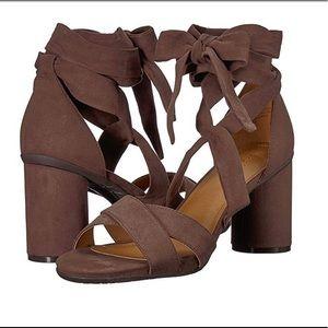 Shoes - KENNETH COLE ANKLE WRAP BLOCK HEEL SANDAL 💞